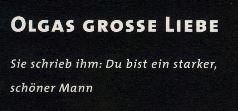 Olgas Grosse Liebe